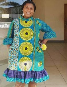 Plus Size Ankara Gown Styles African Dresses Plus Size, African Dresses For Women, African Attire, African Wear, African Women, African Clothes, South African Fashion, African Fashion Ankara, African Inspired Fashion