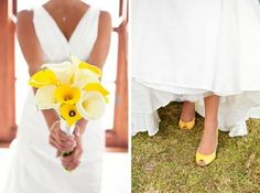 Sunflower Yellow Wedding Color Palettes - Weddbook