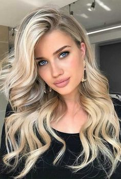 33 Gorgeous hair color ideas for a change-up this new year - brown chocolate hair color, brown hair color, balayage hair blonde, subtle blonde balayage, blonde - Blonde Hair Shades, Blonde Hair Looks, Blonde Hair With Highlights, Balayage Hair Blonde, Brown Blonde Hair, Platinum Blonde Hair, Brown Balayage, Dark Hair To Blonde, Girls With Blonde Hair
