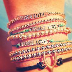 Faith, hope and love.