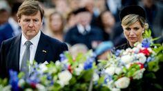 Foto's: koningspaar herdenkt 4 mei