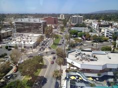 Looking west from the Union Bank building on San Vicente. August 2012. Chasing Chaos.