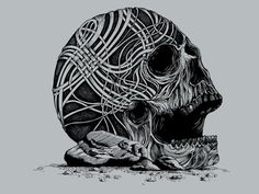 Celtic Skull - $11.00 + $5 standard shipping