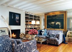 Traditional Living Room by Cafiero Select in New York, New York