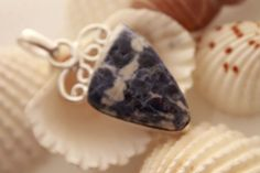 SODALITE GEMSTONE HOT JEWELRY FOR HER 925 STERLING SILVER NECKLACE PENDANT 902 #925silverpalace #Pendant