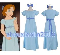 Film Peter pan wendy Rachael Cosplay costume party dress graceful girl Dress New