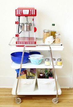 popcorn cart for future home theatre