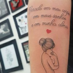 Tattoo for youngsters: concepts to document your love of mom within the pores and skin - Tattoos for Couples,Tattoos for Women Mommy Tattoos, Couple Tattoos, Elegant Tattoos, Tattoo Parlors, Friends Tv, Gisele, Get A Tattoo, Tattoos For Women, Tatoos