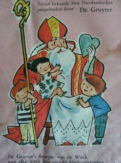 De Gruyter 'Sinterklaas' zangboekje (E1)