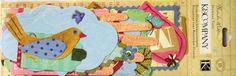 K & Company Brenda Walton Olivia Rose Journal Tags Die-cut Cardstock Embellishments are available at Scrapbookfare.