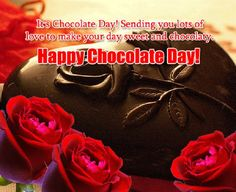 chocolate day quotes for girlfriend - Happy Valentines Day Card Happy Chocolate Day Wishes, Happy Chocolate Day Images, Valentine Day Week, Happy Valentines Day Card, Cheesecake Mousse Recipe, Message For Boyfriend, Boyfriend Ideas, Chocolate Brown Hair, Happy Friendship Day