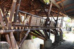 Black bamboo community center, Yogyakarta, Indonesia