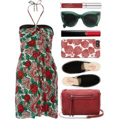 How To Wear strawberry field Outfit Idea 2017 - Fashion Trends Ready To Wear For Plus Size, Curvy Women Over 20, 30, 40, 50