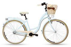 Gutes Fahrrad Sport & Freizeit, Sport, Radsport, Fahrräder, Cityräder Bicycle, Beige, Vehicles, Retro Design, Road Cycling, Light Blue, Bike, Bicycle Kick, Bicycles