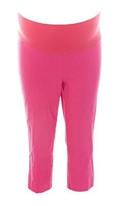 33cbae56727ad JULES JIM Maternity Womens Skinny Capri Pants Medium Raspberry * Want  additional info? Click on