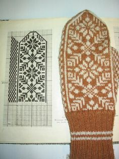 VK is the largest European social network with more than 100 million active users. Crochet Mittens Free Pattern, Fair Isle Knitting Patterns, Knitting Charts, Knitting Stitches, Knitting Designs, Knit Crochet, Fingerless Mittens, Knit Mittens, Knitted Gloves