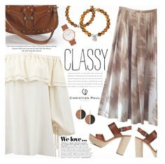 """""""classy!"""" by shoalehnia ❤ liked on Polyvore featuring Michael Kors, Zara and H&M"""