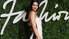 Kendall Jenner Beautiful White Angel Wallpaper - HD Wallpapers - Free Wallpapers - Desktop Backgrounds