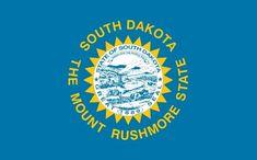 Illustration: South Dakota state flag. Credit: Wikimedia Commons. North Dakota, Dakota Do Sul, South Dakota State, Us States Flags, U.s. States, United States, Sioux, Nebraska, Wyoming