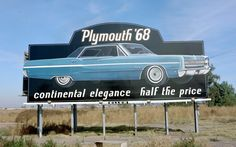 A photo gallery of some vintage Billboard advertisements from the 1950s, '60s, '70s, and '80s.