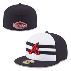 Men's Atlanta Braves New Era Navy 2015 All-Star Game Authentic Collection Diamond Era On-Field 59FIFTY Fitted Hat