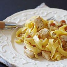 Ricette pasta: tagliatelle con pesce spada e zafferano