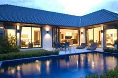 Sea view villa in Rawai, Phuket, Thailand.