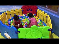 Twins at the play area. Funny Moments, Toy Chest, Storage Chest, Twins, In This Moment, Play, Youtube, Twin, Youtubers