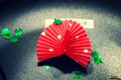 Glückskeks aus Papier-Muffinförmchen