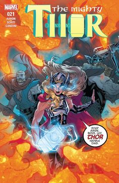 Browse the Marvel Comics issue Mighty Thor Learn where to read it, and check out the comic's cover art, variants, writers, & more! Marvel Comics, Thor 2, Lady Thor, Comic Prices, Female Thor, Comic Book Collection, The Mighty Thor, Funny Marvel Memes, Marvel Women