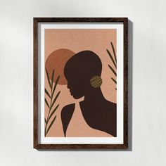 Small Canvas Art, Mini Canvas Art, African Art Paintings, African Wall Art, Female Art, Female Portrait, Black Art Painting, Africa Art, Feminist Movement
