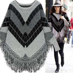 32.98$ (Buy here - https://alitems.com/g/1e8d114494b01f4c715516525dc3e8/?i=5&ulp=https%3A%2F%2Fwww.aliexpress.com%2Fitem%2FWomen-s-Jacquard-Fringed-Bat-sleeve-Sweater-Shawl-Capes-coat-pregnancy-clothes-winter-pregnant-women%2F32735101029.html) Women's Jacquard Fringed Bat sleeve Sweater Shawl Capes coat pregnancy clothes winter pregnant women's coat   314