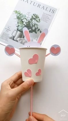 Diy Crafts Hacks, Diy Crafts For Gifts, Paper Crafts For Kids, Craft Activities For Kids, Preschool Crafts, Diy For Kids, Baby Activities, Creative Crafts, Easter Crafts