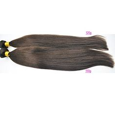 Moresoo 18inch/45cm 150gram Human Hair Weft Double Drawn Weaving Extensions 2# Dark Chocloate Brown Moresoo http://www.amazon.co.uk/dp/B00UTDHN44/ref=cm_sw_r_pi_dp_L04-vb0EQJAH6 If your hair is thin, you can try it,.