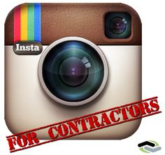 Introduction to Instagram For Contractors on http://www.footbridgemedia.com/contractor_marketing