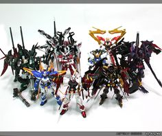 GUNDAM GUY: MG 1/100 Astray Gundam Custom Builds - Image Gallery by Ang마