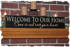 Handcrafted Personalized, Primitive, Rustic and Custom Made Wooden Signs