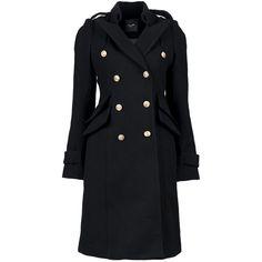 Smythe Great Coat ($697) ❤ liked on Polyvore featuring outerwear, coats, coats & jackets, jackets, sobre-tudo, smythe coat, faux coat, long sleeve coat and double-breasted coat