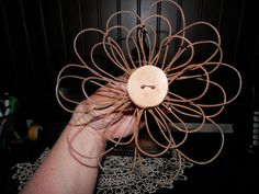 Rusty Wire Flowers 2019 rusty wire flowers crafts repurposing upcycling The post Rusty Wire Flowers 2019 appeared first on Metal Diy. Flowers To Go, Wire Flowers, Fabric Flowers, Paper Flowers, Bed Spring Crafts, Spring Projects, Rusty Bed Springs, Barbed Wire Art, Barbed Wire Wreath