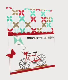 A card for any friend using the Stampin' Up! Cycle Celebration more details at www.pinkblingcrafter.blogspot.com