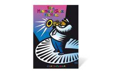 Montreux 2004 / Artwork by Burton Morris Festival Montreal, Festival Jazz, Montreux Jazz Festival, Festival Posters, Concert Posters, Music Posters, Jazz Poster, Blue Poster, Burton Morris