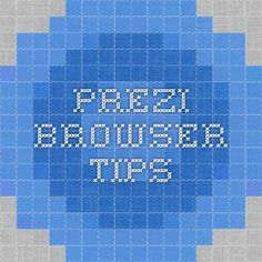 Sometimes your browser's security and privacy settings can prevent you from using Prezi effectively. Here's the article from the Prezi Knowledgebase