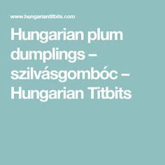 A lovely home-made vegetable soup with delicately spiced soft dumplings. Even those who are not usually a fan of liver may find this pleasing, kids usually love it too. A great traditional Hungar… Plum Dumplings, Dumplings For Soup, Cabbage And Noodles, Caramelized Sugar, Hungarian Recipes, Casserole, Appetizers, Stuffed Peppers, Homemade