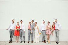 bright yellow + orange summer wedding in Atlanta | Paperlily Photography | via junebug weddings | #BHLDNbride