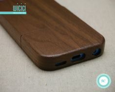 Natural Wood iPhone 5c case Wood iPhone 5c case Eco by wicici, $22.99