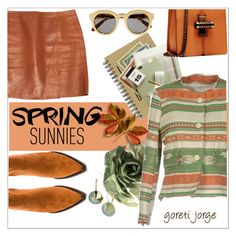 """""""Spring Sunnies"""" by goreti ❤ liked on Polyvore featuring (+) PEOPLE, STELLA McCARTNEY, 3.1 Phillip Lim, Jeffrey Campbell, BURAK UYAN, L. Erickson, SpringStyle, springsunnies and Spring2017"""