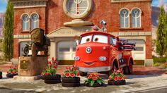Cars Disney Cars Movie, Cars 2006, Walt Disney Co, Disney Magic, Bug Car, Radiator Springs, Cute Disney Pictures, Flower Car, Cars Land