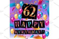 62 years anniversary  by Aromeo on @creativemarket