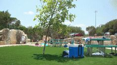 Quarry Splash Pad in Leander Texas at the Williamson County Regional Park on Sam Bass, north of 1431