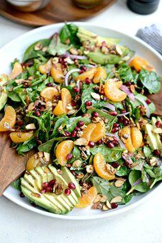 Mandarin Salad with Honey Poppy Seed Vinaigrette l SimplyScratch.com (12)